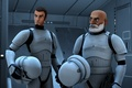 Picture Star wars: Rebels, the animated series, Star Wars: Rebels, Keenan and Rex