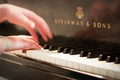 Picture hands, piano, music