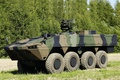 Picture machine gun, 8x8, weapon, the Finnish defence industry company Patria, Armored Modular Vehicle, heavy weapon, ...