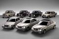 Picture retro, mercedes-benz, cars, a lot