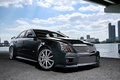 Picture black, cadillac, CTS-V1