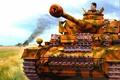 Picture tanker, Pz. IV, Panzerkampfwagen IV, German medium tank, the Germans, figure, A IV, Fritz, Panzerkampfwagen ...