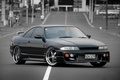 Picture Nissan, black, tuning, Skyline, R33
