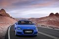 Picture Audi TTS Coupe 2015, the sky, Audi TT, blue, mountains