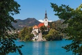 Picture island, Slovenia, Lake Bled, Slovenia, Lake bled, Bled, Assumption of Mary Pilgrimage Church, Bled, Church ...