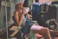 Picture model, Rosie Huntington-Whiteley, blonde