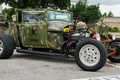 Picture retro, classic, hot-rod, classic car, military style