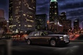 Picture night, the city, Rolls-Royce, limousine