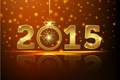 Picture New Year, gold, New Year, Happy, 2015