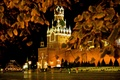 Picture Moscow, beautiful, gum, center, red, autumn, area