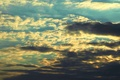 Picture clouds, the sky, summer, Clouds
