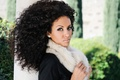 Picture woman, eyes, beauty, afro hairstyle
