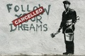 Picture Banksy, graffiti, wall
