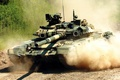 Picture T-90, tank, the main battle tank of the Russian Federation