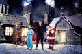 Picture gifts, winter, Jenna Coleman, Jenna Coleman, The Twelfth Doctor, Twelfth Doctor, Santa Claus, bag, elves, ...
