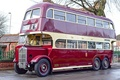 Picture retro, bus, classic, two-storey
