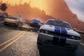 Picture road, police, chase, Porsche, dodge challenger, need for speed most wanted 2