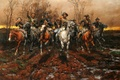 Picture picture, painting, painting, Andy Thomas, The Guerrillas