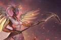 Picture overwatch, blizzard, girl, fps, mercy
