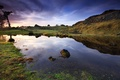 Picture the sky, water, lake, sunrise, New Zealand