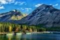 Picture Banff, Canadian Rockies, Marina, Canadian Rockies, Alberta, court, Canada, Albert, Banff National Park, Canada, Lake ...