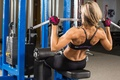 Picture workout, fitness, Selita Paea