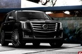 Picture tuning, Cadillac, Escalade, black, 2015