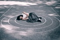 Picture asphalt, And the world is turning, Andrea Peipe, sleep, girl