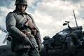 Picture gun, soldiers, form, car, Electronic Arts, Battlefield 1