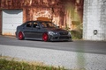 Picture turbo, lexus, red, wheels, black, japan, toyota, jdm, tuning, Lexus, front, Toyota, face, low, height, ...
