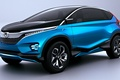 Picture prototype, vector, Honda, crossover