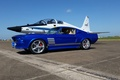 Picture ford, mustang, blue, boss