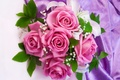 Picture beautiful, pink, roses, gentle, roses, bouquet, wedding, flowers, flowers