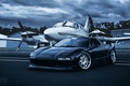 Picture Honda, the plane, front, Acura, NSX, Evoked Photography