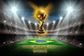 Picture football, Brazil, 2014, World Cup, world Cup, football, Brasil, FIFA, golden, trophy