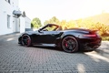 Picture Black, Cabriolet, TechArt, turbo, convertible, Porsche, 911, Porsche, Turbo