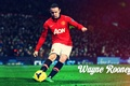 Picture red, football, Rooney, Manchester united, devil, Wayne