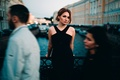 Picture Elena, Ivan Proskurin, the city, girl, passers-by