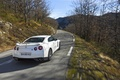 Picture wallpapers, car, road, Nissan, Wallpaper, cars, nissan, machine, auto, forest, 2011, mountain, rear view, nature, ...