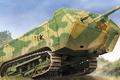 Picture figure, Saint-Chamond, French tanks of world war I, art, Saint-Chamond