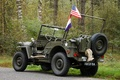 """Picture world, Second, times, Jeep, car, patency, high, army, """"Willis-MV"""", war, Willys MB"""