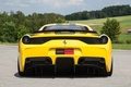 Picture the sky, trees, yellow, ferrari, Ferrari, yellow, back, 458 speciale