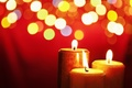 Picture red, heat, fire, candles, decor