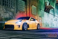 Picture 370z, optics, Z34, ladder, before, Project 1, machine, Nissan, night, Wheels, auto, auto