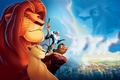 Picture Wallpaper, the film, the lion king, lioness, clouds, animals, Timon, nature, boar, rock, Pumbaa, Nala, ...