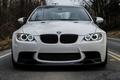 Picture e92, the front, road, white, bmw, BMW, white