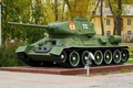 """Picture weapons, t-34-85, tank, monument, """"Ural"""""""
