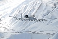 Picture Thunderbolt II, flight, snow, mountains, The thunderbolt II, A-10, attack