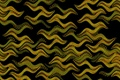 Picture graphics, black background, yellow patterns