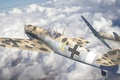 Picture aviation, the plane, German, messerschmitt, Me-109, fighter, Messerschmitt